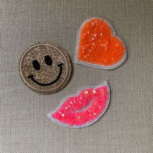 😀Super Fun Sequin Iron on / Glue on Patches (3)💋